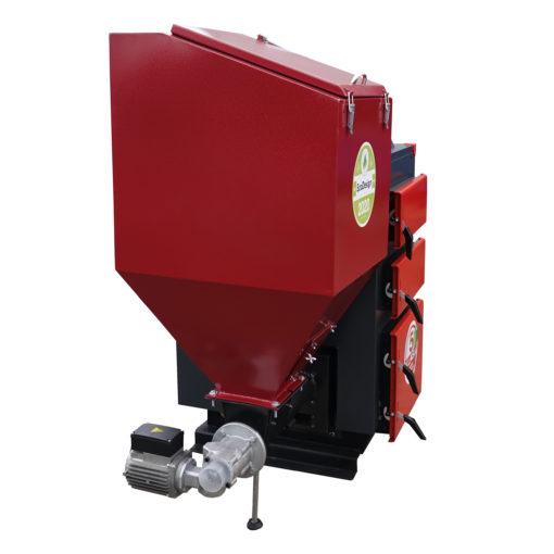 Kocioł GRAND TEH 15 kW + sterownik OXIBORD 760 (kolorowy wyświetlacz TFT)
